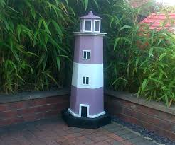 decorative lighthouses for in home use how to build a garden lighthouse out of pallets