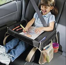 tablette de voyage pour siege auto ejy plateau de voyage pour enfant pour manger et jouer dans un