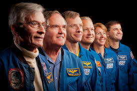 space shuttle astronaut nasa sts 135 postflight image gallery