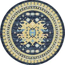 3 Round Area Rugs by Traditional Persian Design Large Area Rug Oriental Soft Tribal