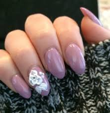 51 trending almond shaped acrylic nails art design and styles