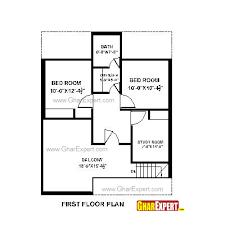 Home Design For Rectangular Plot House Plan For 28 Feet By 35 Feet Plot Plot Size 109 Square Yards