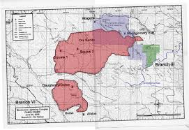 Lightning Strikes Map Maps Of 2008 Orr Series Montgomery Woods Fire Mendocino County