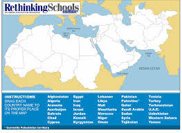Saudi Arabia Blank Map by The Map Game A Learning Tool