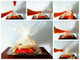 where can i buy cellophane wrap make inexpensive gift baskets that look expensive