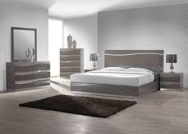 Gloss White Bedroom Furniture Amazon Com Chintaly Imports Delhi 2 Drawer Nightstand Grey