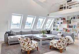 Ideas For Living Room Decoration Beautiful Attic Living Room Design Ideas On Attic Living Room