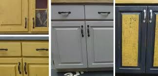 Painting Kitchen Cabinets With Annie Sloan Cabinet Makeover Artworksspokane