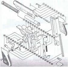 bernardelli model pistol firearms assembly