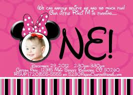 minnie mouse 1st birthday invitations templates smart tag me