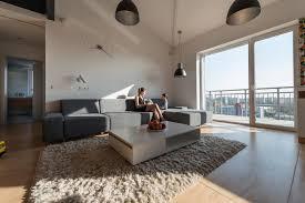 chic scandinavian loft interior arafen