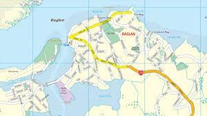 New Zealand On World Map by Raglan New Zealand Maps