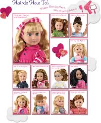 border braid on our generation doll hairstyles pinterest