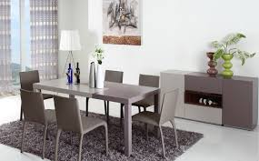 Modern Dining Sets Modern 2 Tone Dining Table