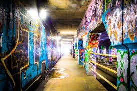 graffiti inside krog street tunnel in atlanta georgia u2013 noir gallery