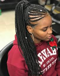 black braids hairstyle for sixty braids braids pinterest protective styles hair style and