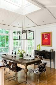 Glass Chandeliers For Dining Room Rectangular Chandelier Dining Room Dining Room Rectangular