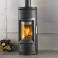 free standing wood burning fireplace home design ideas