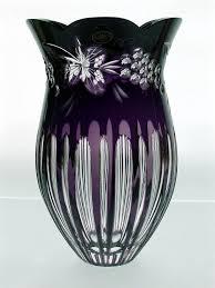 Crystal Gifts Stemware Vases Rare Colors European 108 Best Vases Images On Pinterest Glass Vase Purple Vase And Vases