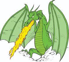 cartoon dragon breathing fire pa times online