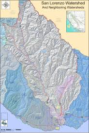 Mountain Ranges World Map by San Lorenzo River What U0027s In A Watershed Part I Santa Cruz Waves