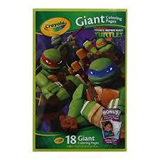 amazon crayola kids teenage mutant ninja turtles tmnt giant