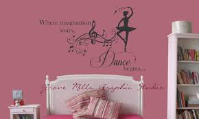 dance wall stickers custom wall stickers 18 wall decals for age s dance wall decal s room decal dancing by wallapaloozadecals artequals