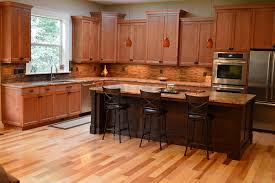 l shape kitchen design using black leather tall kitchen chair