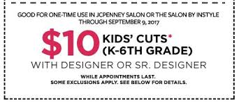 jcpenney hair salon prices 2015 haircuts for kids at jcpenney salons only 10 with coupon saving