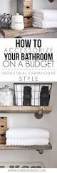 Bathroom Design Ideas On A Budget by Best 25 Bathroom Accessories Ideas On Pinterest Apartment