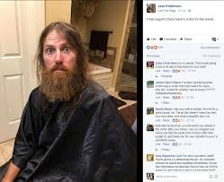 duck dynasty hair cut jase robertson from duck dynasty shaves off his beard for