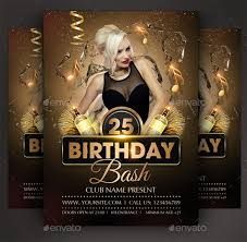 birthday flyer templates 14 amazing birthday party psd flyer