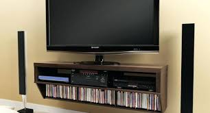 mounted tv stand medium size of living floating led wall unit