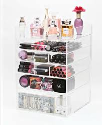 Organizing Makeup Vanity Best 25 Acrylic Organizer Ideas On Pinterest Acrylic Makeup