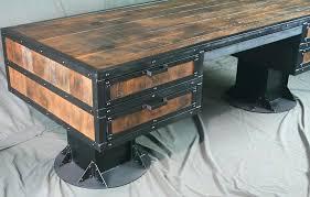 rustic industrial desk contemporary rustic industrial desk rustic