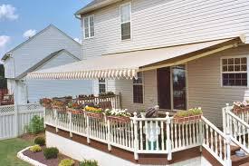 deck awnings long island free estimate aluminum u0026 retractable
