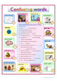 homonyms for kids worksheet free esl printable worksheets made
