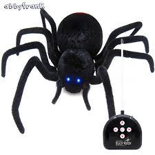 abbyfrank simulation remote control plush creepy spider realistic