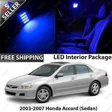 Honda Accord 2003 Interior Honda Accord 4 Door Sedan Blue Led Interior Light Bulb Package For