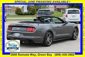 mobile bay mustang used 2017 ford mustang ecoboost premium used cars for sale in