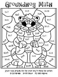 tremendous multiplication coloring pages halloween multiplication