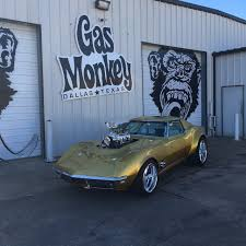 gas monkey porsche ls3 1968 chevrolet corvette wheels commissioned build by gas