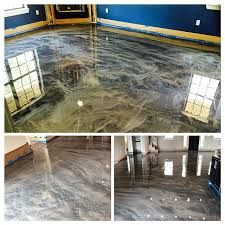 metallic flooring dallas texas