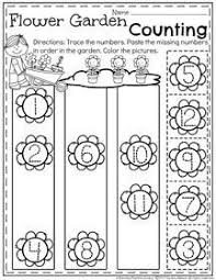 may preschool worksheets flowers garden preschool and worksheets