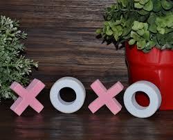 valentines decor hugs u0026 kisses xoxo wood block set