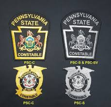 State Flag Velcro Patches Pa State Constable Patches U2013 Tactical Wear