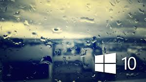 windows 10 on the rainy window 5 wallpaper computer wallpapers