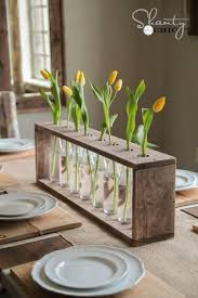 Wood Centerpieces Diy Projects To Recycle Wooden Boxes Becoration