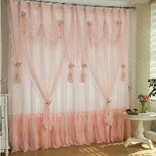 Pink Ruffle Blackout Curtains 13 Best Lace Curtains Images On Pinterest Curtain Ideas