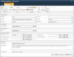 help desk ticket form harepoint helpdesk for sharepoint screenshots